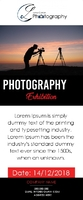 photography Rectractable banner