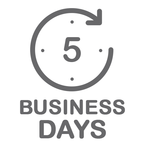 Standard: 5 Business Days
