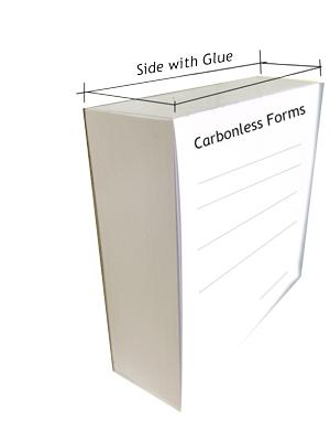 Glued Pads-50 Forms per book
