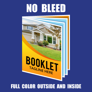 Full Color  Inside and Outside - No Bleed