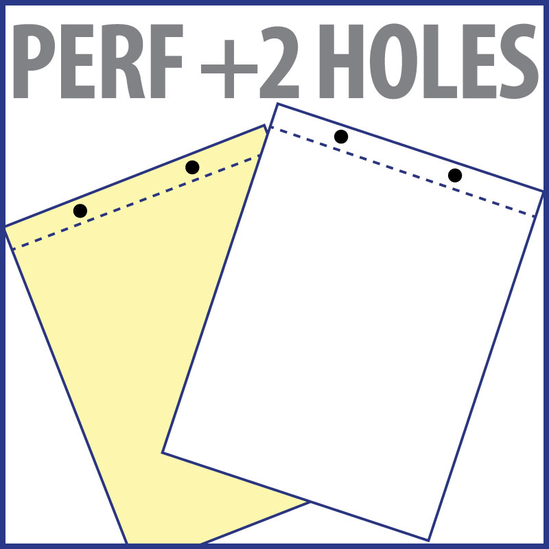 Perforation + 2 Holes