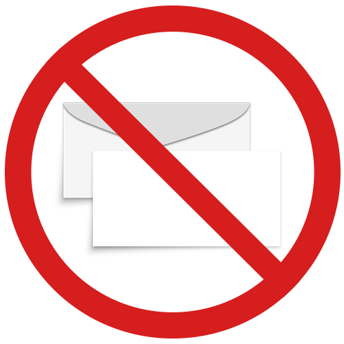 No  Envelopes